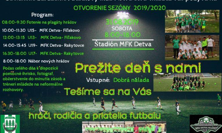 Otvorenie Sezóny 2019/2020